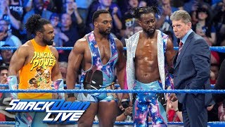Mr. McMahon gives Kofi Kingston an opportunity to prove him wrong: SmackDown LIVE, March 12, 2019