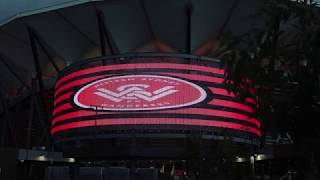 Bankwest Stadium Light Test