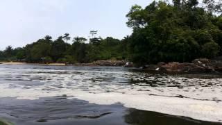 preview picture of video 'Les chutes de la Lobé à Kribi'