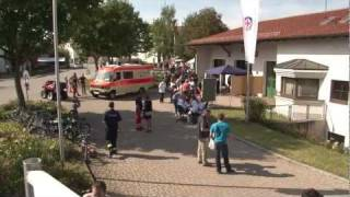preview picture of video 'Rettungszentrum in Töging a. Inn, beim Herbstmarkt 2011'