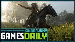 Rockstar Allows Red Dead Devs to Tweet - Kinda Funny Games Daily 10.18.18