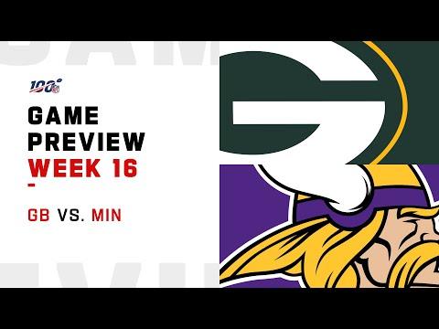 Green Bay Packers vs Minnesota Vikings Week 16 NFL Game Preview