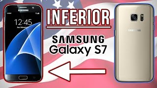 Did Samsung Sell You The Inferior Version Of The Samsung Galaxy S7?
