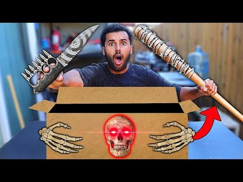 Download Opened A Mystery Box From The Dark Web Gun Inside Video 3GP