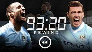 MAN CITY 3-2 QPR | HD Extended Highlights | 93:20 Rewind