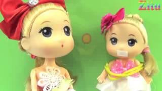 Đồ chơi trẻ em Bé Na & Nhật ký Chibi tập 16 Winx & Bắt cóc Baby doll & Kidnap Stop motion Kids toys