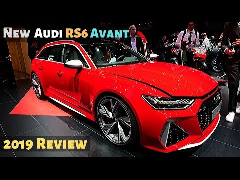 New Audi RS6 Avant 2019 Review Interior Exterior