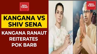 Kangana Ranaut Reiterates PoK Barb; Shiv Sena Pratap Sarnaik Compares Bollywood Actor With Dog - Download this Video in MP3, M4A, WEBM, MP4, 3GP