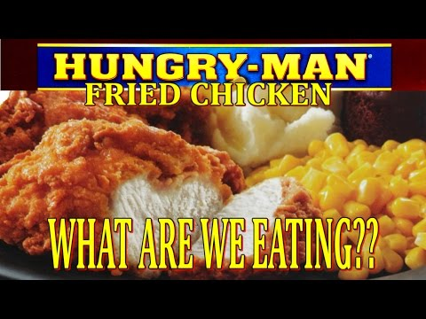 Hungry-Man Fried Chicken – Oven vs. Microwave – WHAT ARE WE EATING? – The Wolfe Pit