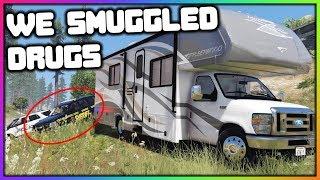 GTA 5 Roleplay - Drug Smuggling Gone Wrong (Police Chase) | RedlineRP