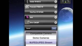 preview picture of video 'ipCam FC iPhone, iPad App Version 1.15'
