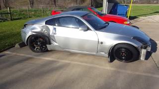 I BOUGHT A WRECKED 350Z -  280Z Build Ep. 4
