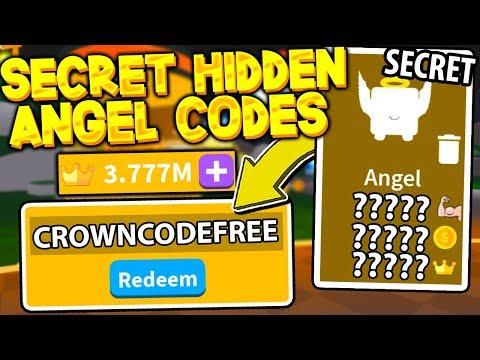 SECRET ANGEL PET CROWN CODES IN SABER SIMULATOR! *MUST SEE* Roblox