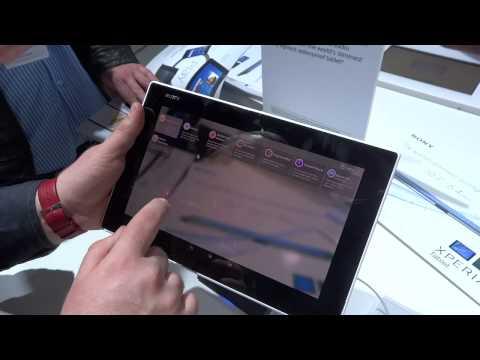 MWC 2014: Anteprima Sony Xperia Z2 Tablet