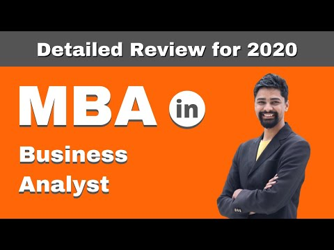 MBA in Business Analyst | Admission | Courses | Fees | Salary - Detailed Review - 2020