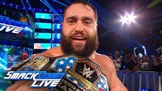 Notas de SmackDown LIVE: Miz y McMahon unen fuerzas; NUEVO Campeón de los Estados Unidos (VIDEOS)