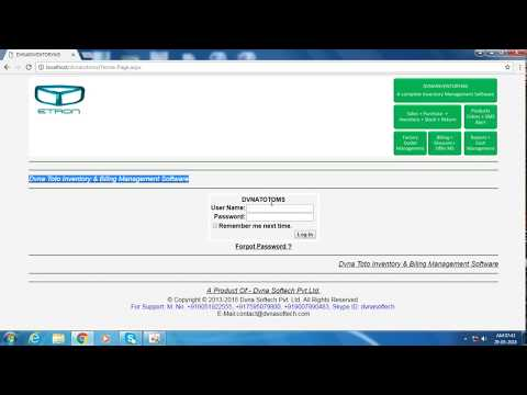 Toto Billing And Inventory Management Software
