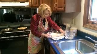 Grandma Moore's five minute flakey pie crust!