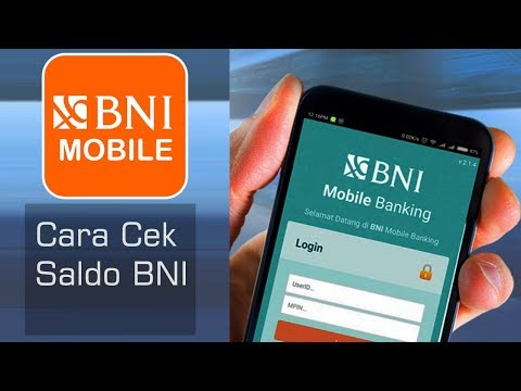 BNI Mobile - Cara Cek Saldo BNI Pada Aplikasi BNI Mobile | Tutorial mobile bankingPonselPedia