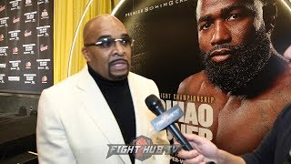 """LEONARD ELLERBE """"FLOYD DIDNT SAY ONE WORD ABOUT THE FIGHT; FLOYD IS RETIRED, ILL SAY IT AGAIN!"""""""
