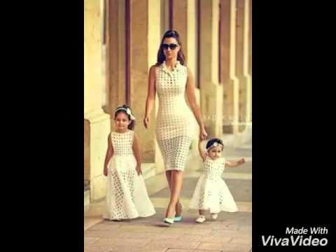 Mom daughter fashion