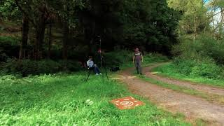 Smooth Sunday - flying FPV in a forrest valley
