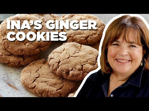 Barefoot Contessa Makes the Ultimate Ginger Cookies | Food Network