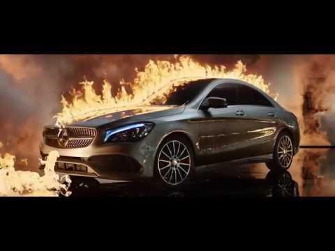Mercedes Benz  Cla Class Coupe Купе класса C - рекламное видео 1