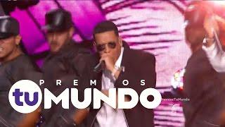 Chino y Nacho cantan junto a Daddy Yankee | Premios Tu Mundo 2016 | Entretenimiento