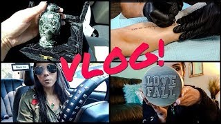 VLOG: August 30th-September 6th | Dads Ashes, Memorial Tattoo, & Fall Candle Haul