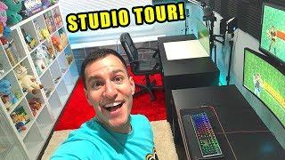 *MY INSANE POKEMON CARDS OPENING SETUP!* New Gaming Setup and Studio Room Tour!