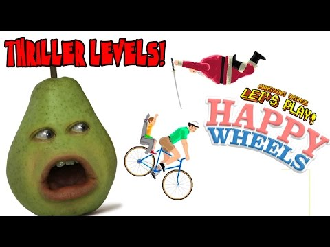 Pear Plays - Happy Wheels: THRILLER LEVELS!