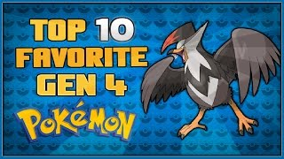 Top 10 Favorite Gen 4 Pokémon | Pokémon Diamond and Pearl