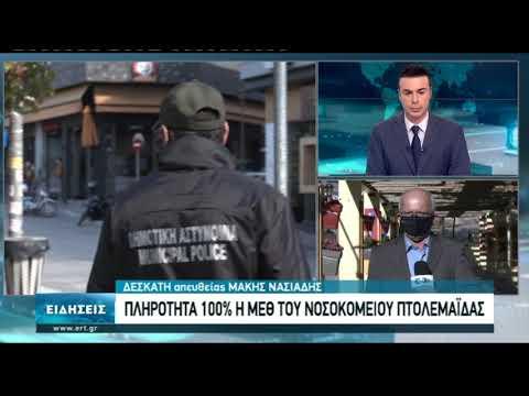 Στα όριά τους και τα νοσοκομεία στην Κοζάνη | 16/11/2020 | ΕΡΤ