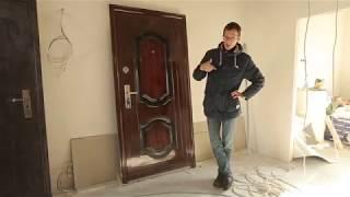 Вскрыли 2 двери при помощи гвоздя.