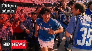 Maradona é enterrado sob forte comoção na Argentina