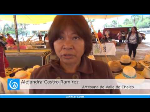 Inicia la primera Feria Artesanal del municipio de Valle de Chalco