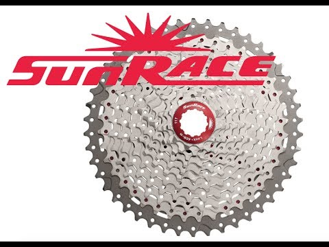 SunRace Cassettes Rock - Low Gears for Fat Old Men Everywhere!