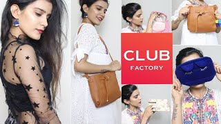 CLUB FACTORY| Clothes & Bags | Worth or Waste?? | Super Style Tips