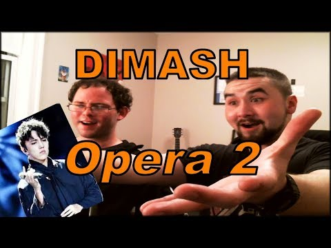 Dimash REACTION - Opera 2 (Vitas Cover Live) American Metalheads React