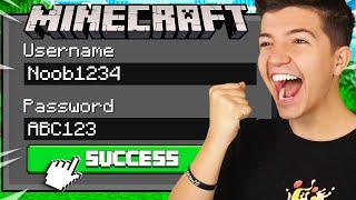 So I Hacked Noob1234s Minecraft Account...