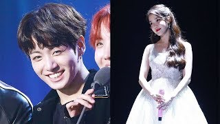 J-Hope Told Jungkook to Sit Next to IU... Here's How He Responded