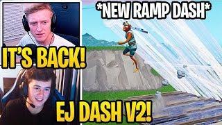 Streamers Show *NEW RAMP DASH* in Fortnite Chapter 2! (EJ DASH V2)