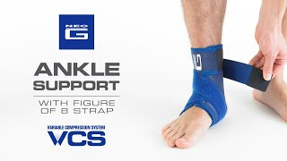 Neo G Ankle Support With Figure Of 8 Strap // How To Apply Guide