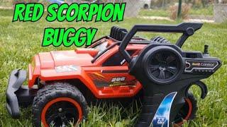 Red Scorpion Buggy von Revell Unboxing Testfahrt und Review