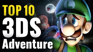 Top Best 3DS Adventure Games Of All Time