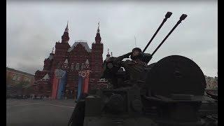 Видео 360: «Терминатор» на Красной площади