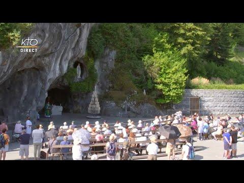 Messe de 10h à Lourdes du 14 juin 2021