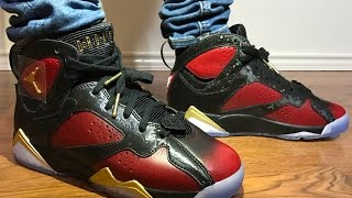 dbeb5940e9 Wife's Jordan Retro 7 Doernbecher unboxing and on feet review!
