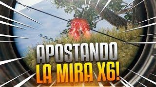 ¡QUIEN MATE PRIMERO SE QUEDA LA MIRA X6! PLAYERUNKNOWN